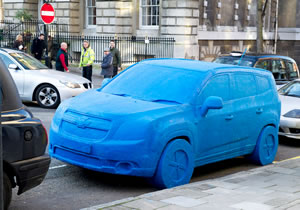Chevrolet Orlando hecho de Play-Doh aparece en Londres