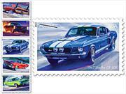 Estampillas postales con los Muscle Cars más emblemáticos