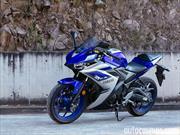 Yamaha YZF R3 2015 a prueba
