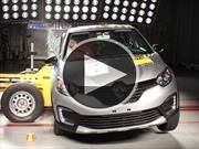 Grandes resultados para la Renault Captur en las pruebas Latin NCAP