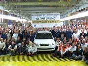El Chevrolet Corsa / Classic se despide del mercado con un récord