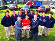 Peugeot present&#243; Selecci&#243;n Chilena de Rugby M20.