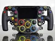 ¿Para qué sirven los botones el el volante de auto de competición?