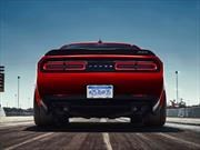 Dodge Challenger SRT Demon 2018 estrena wide body y llantas de 315 mm