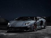 Este Lamborghini Aventador Roadster SV de Novitec es pura potencia
