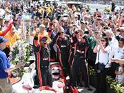 Juan Pablo Montoya es el ganador de las 500 millas de Indianápolis 2015