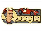 El 105 aniversario de Fangio según Google