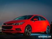 Chevrolet Cruze Turbo, ahora en versión hatchback, desde $14.490.000