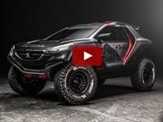 Así es el Peugeot 2008 DKR que competirá en Dakar