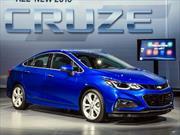 Chevrolet Cruze 2016, el sedán compacto americano se reinventa