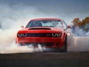 Conoce las plusmarcas del Dodge Challenger SRT Demon 2018