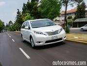 Toyota Sienna 2015 a prueba