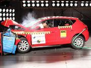 Video: Seat León 2013 obtiene 5 estrellas en la prueba de choque de LatinNCAP