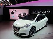 Peugeot presenta el 208 Hybrid FE
