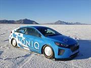 Hyundai IONIQ impone record de velocidad como el híbrido más rápido del mundo