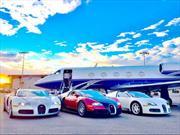 Floyd Mayweather fanfarronea con su colección de autos