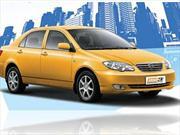 El Taxi BYD Móvil 3 llegó a Colombia