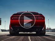 Video: Dodge Challenger SRT Demon, un infierno sobre ruedas