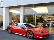"El único Ferrari 458 Italia ""Niki Lauda"" está a la venta"