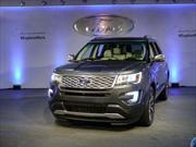 Ford Explorer 2016: Debut en el Salón de Los Angeles