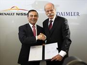Alianza entre Renault-Nissan y Daimler sigue creciendo