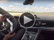 Un Hot lap a bordo del Porsche Panamera 4 E-Hybrid 2018