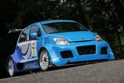 Chevrolet Matiz Track Racer con motor 7.0L V8