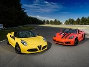 Enfrentamos al Porsche 718 Boxster contra el Alfa Romeo 4C Spider