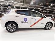 Nissan LEAF 2016 es el nuevo taxi de Madrid