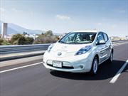 Nissan LEAF 2012 a prueba