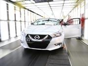 Nissan Maxima 2016 inicia producción