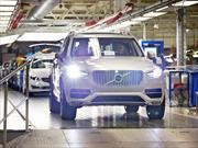 Volvo incrementa la producción del nuevo XC90