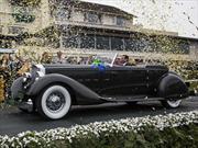 "Packard Twelve Dietrich Victoria Convertible 1934 es el ""Best of Show"" en Pebble Beach 2013"