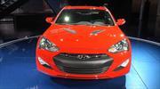 Hyundai Genesis Coupe 2013 en el Salón de Detroit