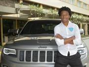 Juan Guillermo Cuadrado, nuevo embajador de Jeep en Colombia