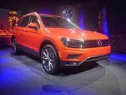 Volkswagen Tiguan Allspace 2018 hace su presentación en el NAIAS