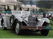 Mercedes-Benz 680S Saoutchik Torpedo 1928 obtiene premio Best of Show 2012