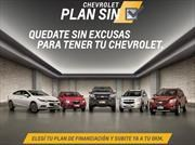Plan SIN, tres opciones para tener tu Chevrolet