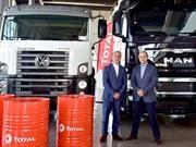 Total será el lubricante oficial de Camiones MAN y Camiones y Buses Volkswagen