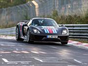 Porsche 918 Spyder es el nuevo rey de Nürburgring