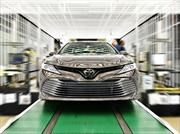 Toyota Camry 2018 comienza producción