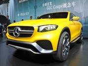 Mercedes-Benz Concept GLC Coupé, el futuro rival del BMW X4