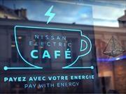Nissan te invita un café por pedalear