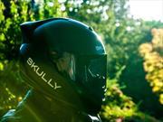 Skully P-1 casco que funciona como el Google Glass