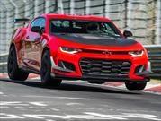 Chevrolet Camaro ZL1 1LE 2018 voló en Nürburgring
