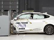 Kia Cadenza 2017 es evaluado en seguridad con el Top Safety Pick+ del IIHS