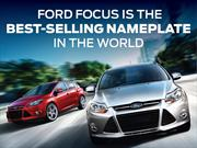 Ford Focus es el auto m&#225;s vendido del mundo