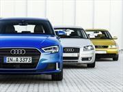 Audi A3 celebra 20 años con tres generaciones