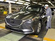 Mazda comienza la producción del nuevo CX-9