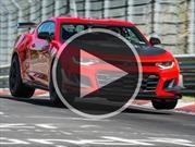 Video: Chevrolet Camaro ZL1 1LE, una ráfaga en Nürburgring